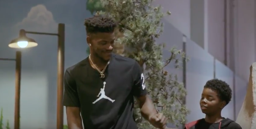 fdc23027ee3f Jimmy Butler Stars in New Kids Foot Locker Ad About Moving To New Cities